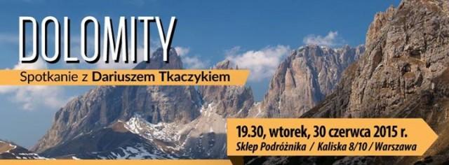 Dolomity. Spotkanie z Dariuszem Tkaczykiem